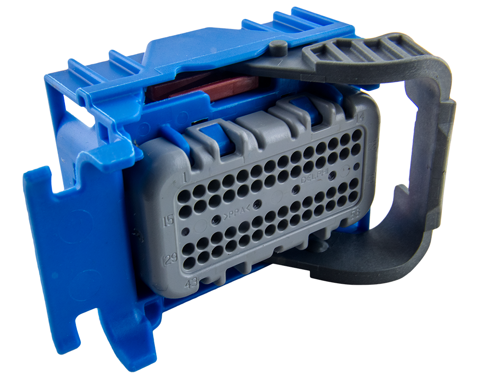 Delphi 56 Way Blue Micro 64 Sealed Female Connector - EFI