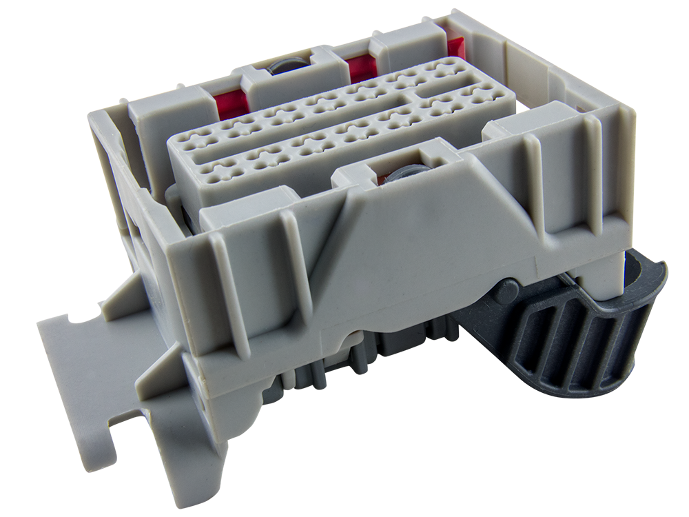 Delphi 56 Way Gray Micro 64 Sealed Female Connector - EFI