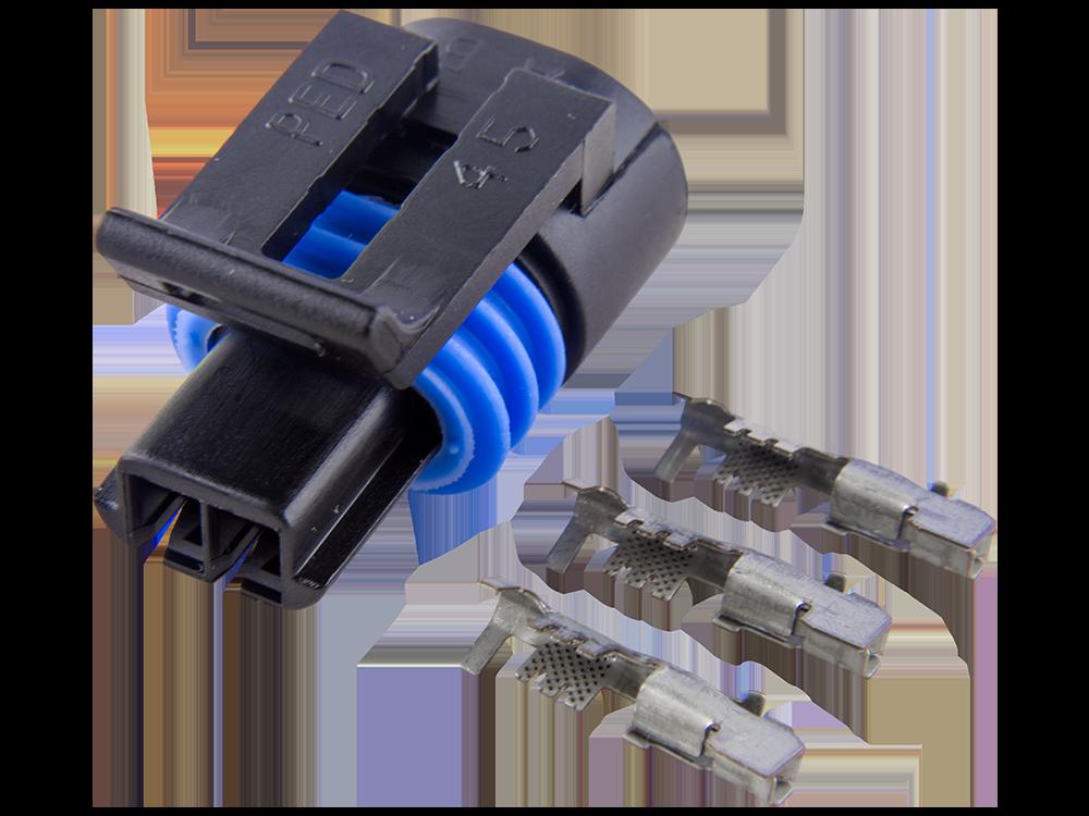 [DIAGRAM_3ER]  Connector Kit for GM Engine Coolant Temperature Sensor (ECT) Delphi  Metri-Pack 150.2 - EFI Connection, LLC   Gm Engine Coolant      EFI Connection