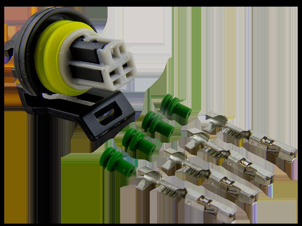 Connector Kit for GM Oil Pressure Sensor Delphi GT 150 3 5mm