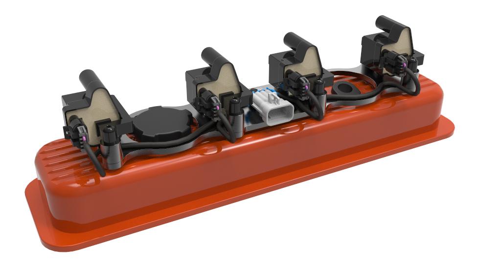 Ignition Coil Bracket embly (D581) - EFI Connection, LLC on